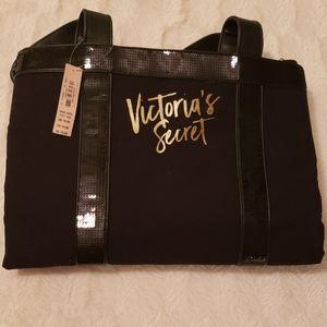 New Victoria's Secret Black Tote